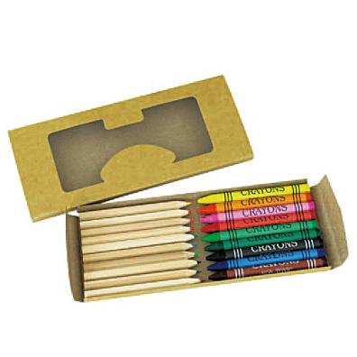 クレヨン&色鉛筆19本セット