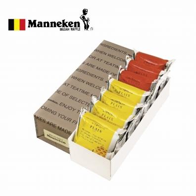 マネケン ベルギーワッフル7個詰合せ 包装済