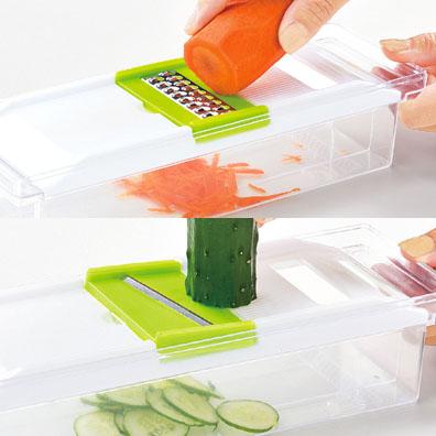 5WAY野菜おろし&スライサーセット