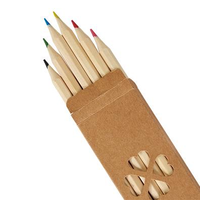 ナチュラル色鉛筆(6本入)