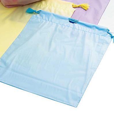 防水カラー巾着