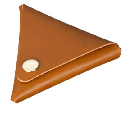 本革三角コインケース