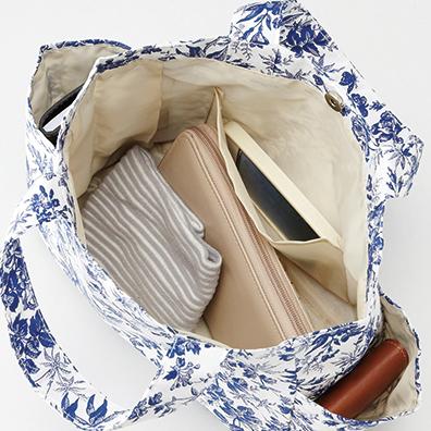 アベル・サイドポケット付きバッグ