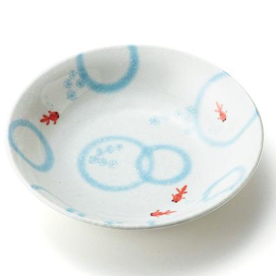 涼み金魚 冷麺皿