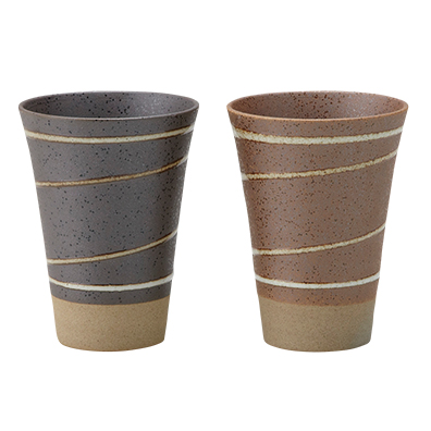 土粋 流線フリーカップ
