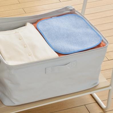 衣類をカラッと 洗える除湿シート2枚組