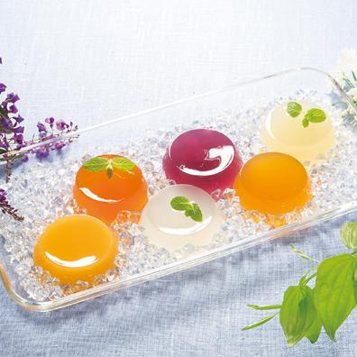 涼果の輝き アソートフルーツゼリー6個組