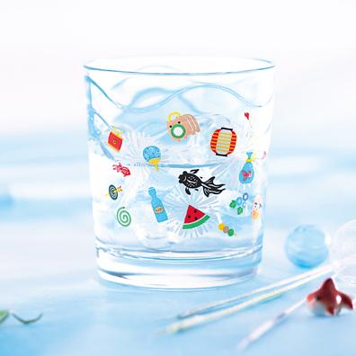 お祭り・波グラス1P
