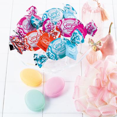 キャンディーソーダ入浴剤