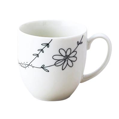 ラインフラワー・マグカップ