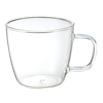 耐熱ガラスマグカップ2個組