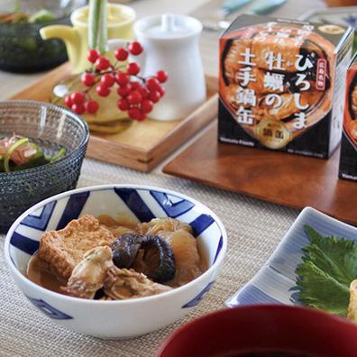 ひろしま牡蠣の土手鍋缶155g