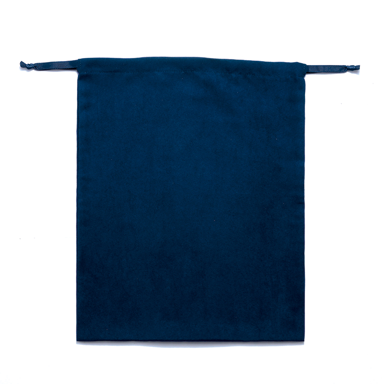 スウェードスタイル巾着(L)