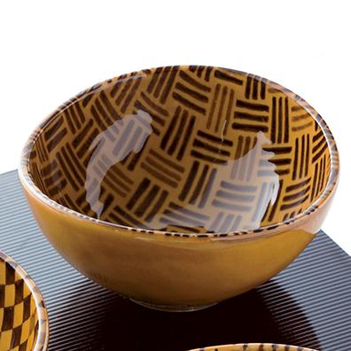 飴細工楕円小鉢