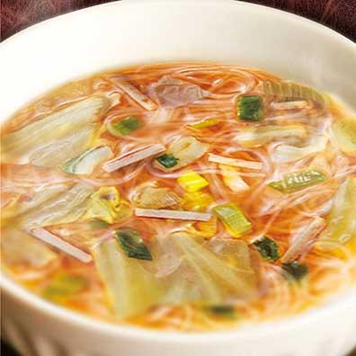 はるさめスープ3種
