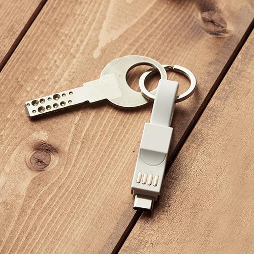 USBケーブル キーリング