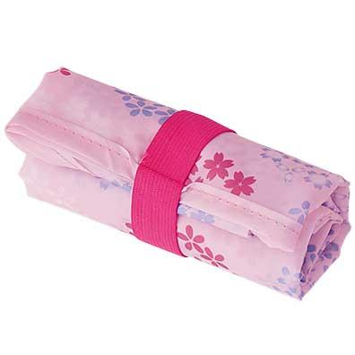桜彩小さくたためるエコバッグ