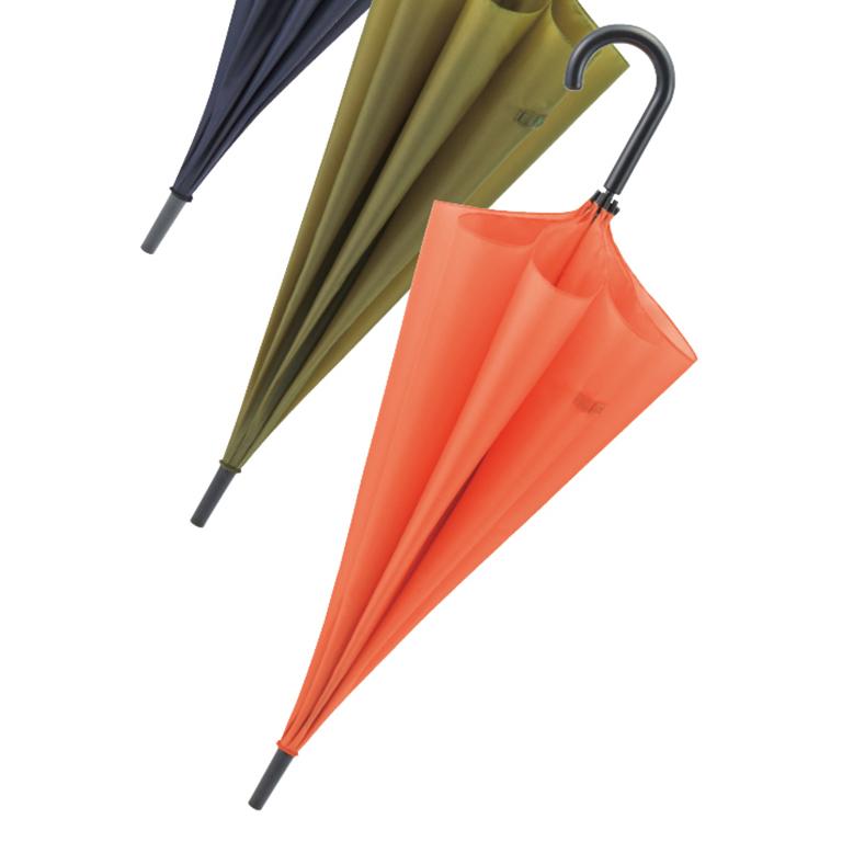 シンプルカラービッグジャンプ傘 1本