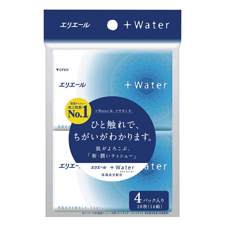 エリエール+Water14W4個組