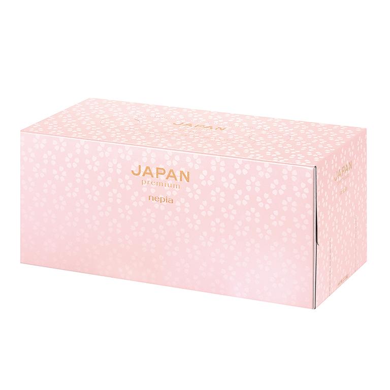 ネピア JAPAN premiumティシュ220W 1個