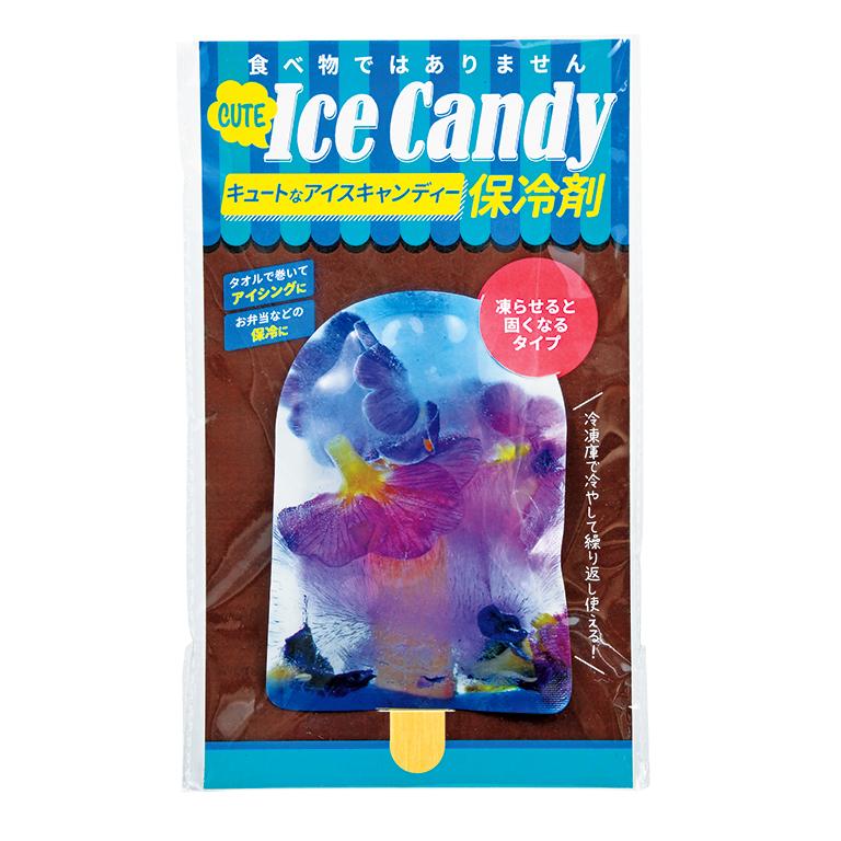 キュートなアイスキャンディー保冷剤