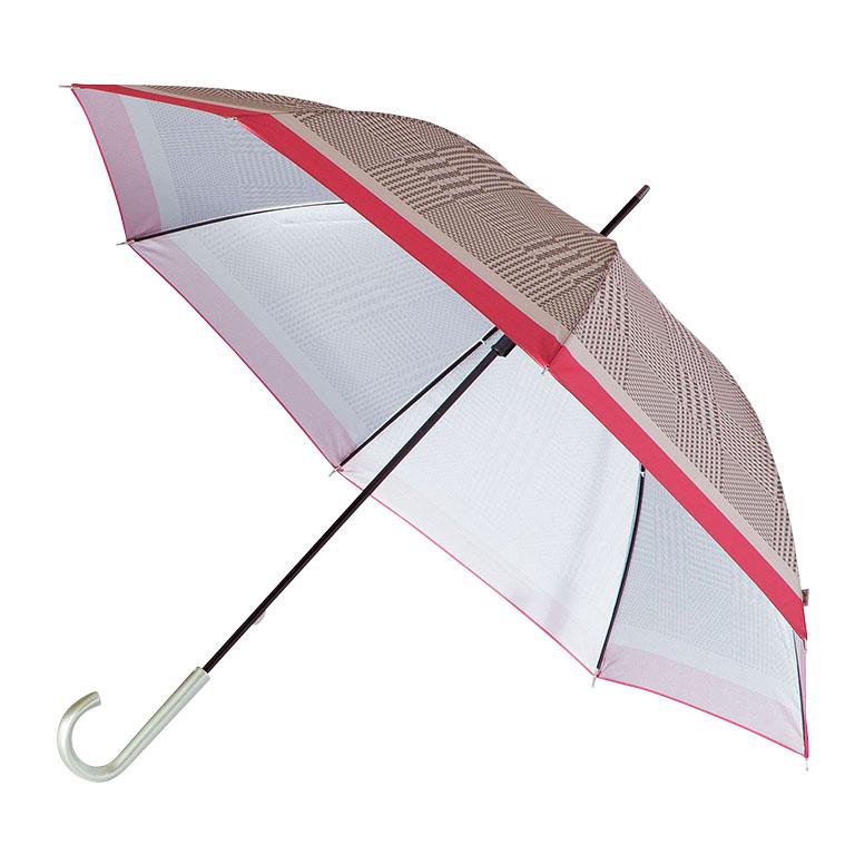 ビビッドチェック/晴雨兼用アンブレラ長傘