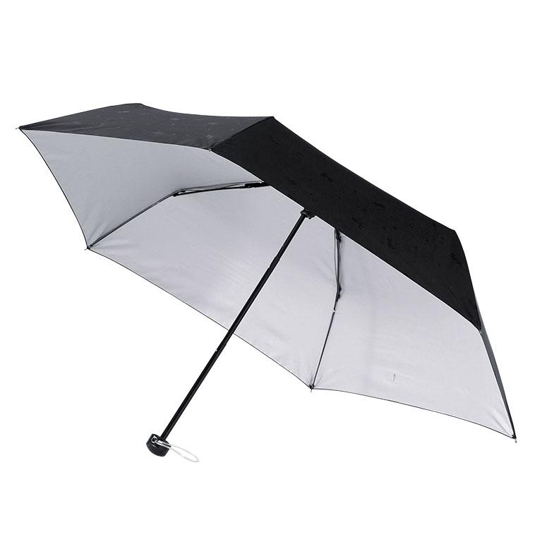 エンボスキャット/晴雨兼用折りたたみ傘