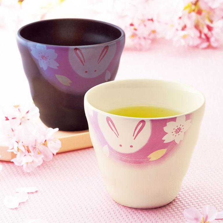 うさぎ桜・フリーカップ