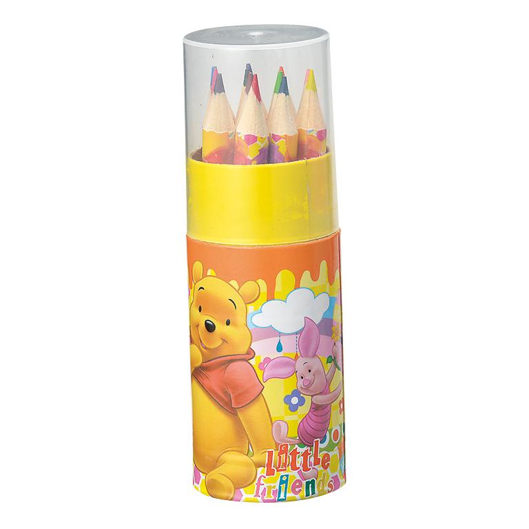 キャラクター 円筒ケース入12色鉛筆