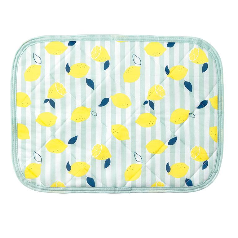 ひんやりレモンのまくらパッド