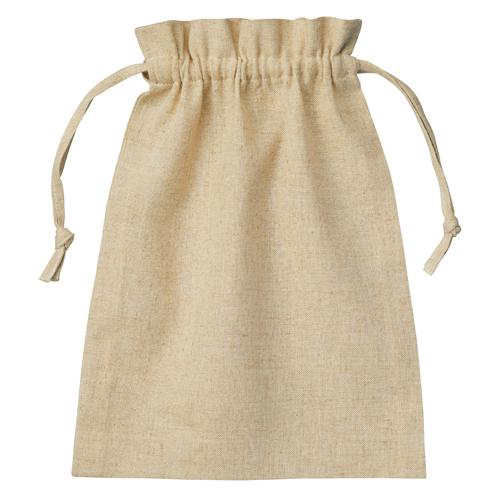 コットンリネン巾着(M)
