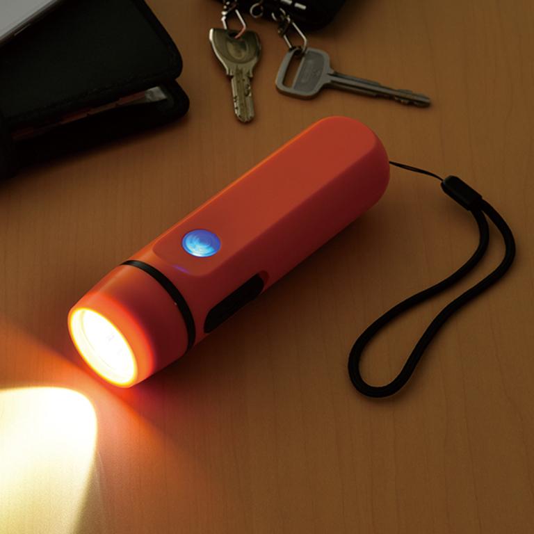 ダイナモ&USB 充電ライト