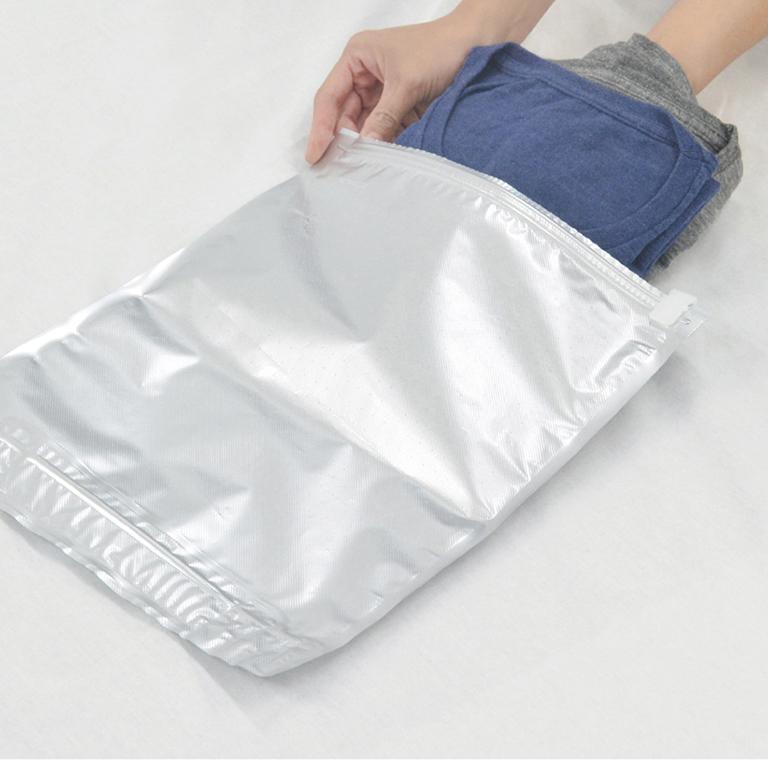 圧縮収納袋