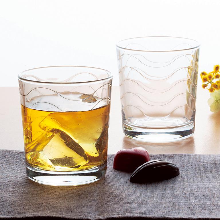 グラス2個組