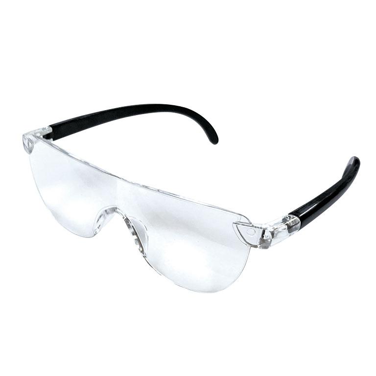 ブルーライトカットメガネ型ルーペ