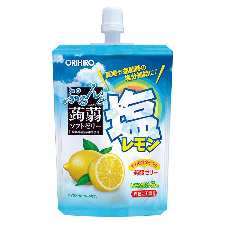 オリヒロぷるんと蒟蒻ゼリー 塩レモン味