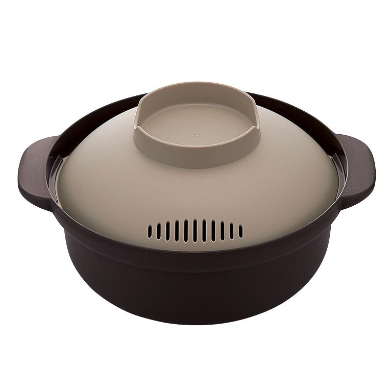 レンジでひとり用ささっと鍋