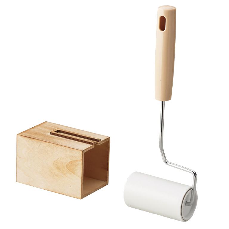 ウッディロールクリーナー(収納BOX付き)