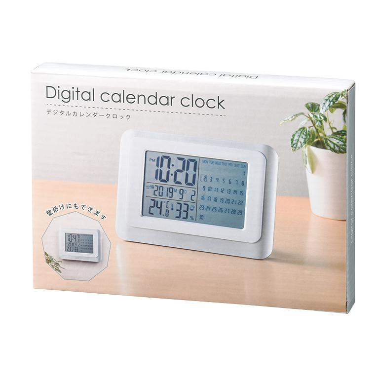 デジタルカレンダークロック