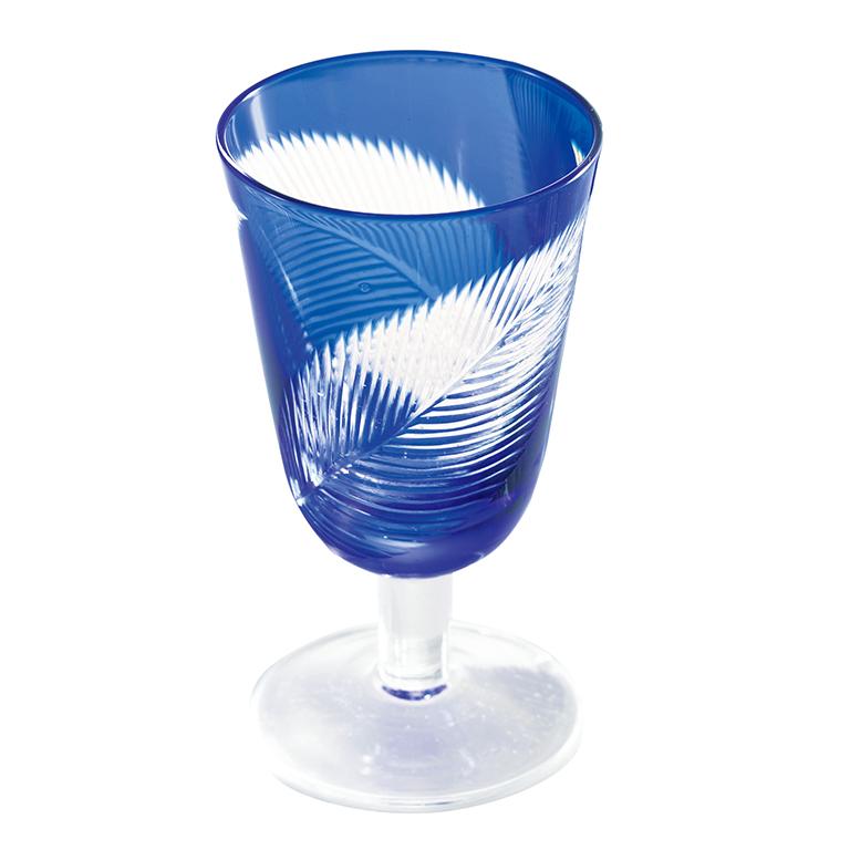 モダン切子・ワイングラス