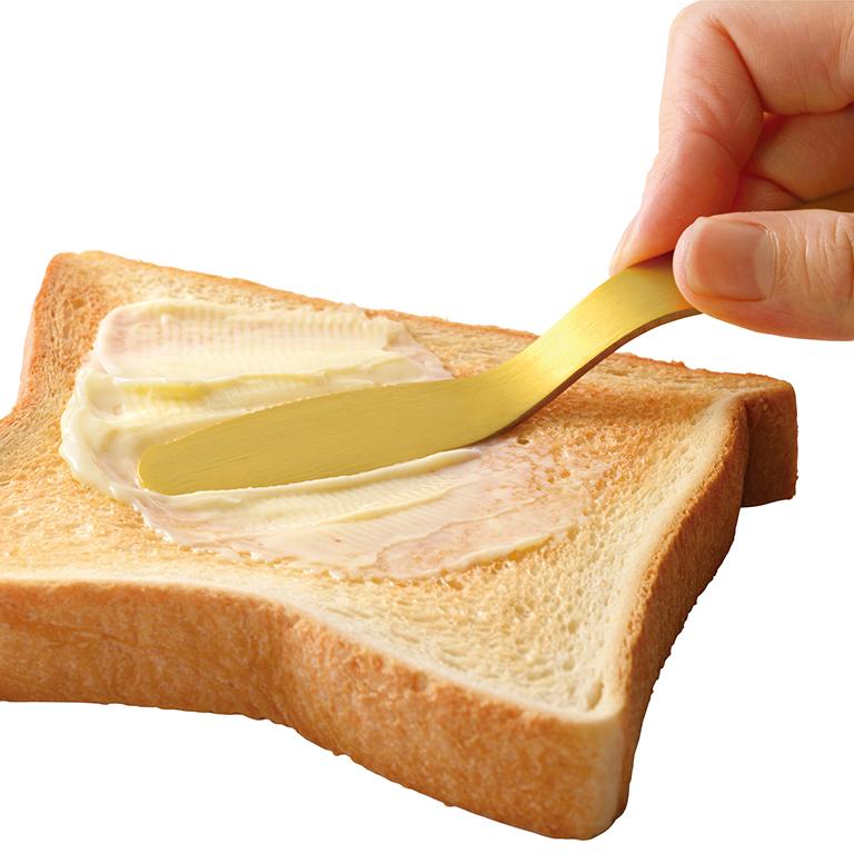 じわっととろける 金のバターナイフ
