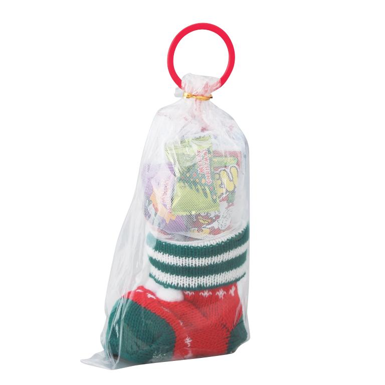 クリスマスお菓子ニットブーツ