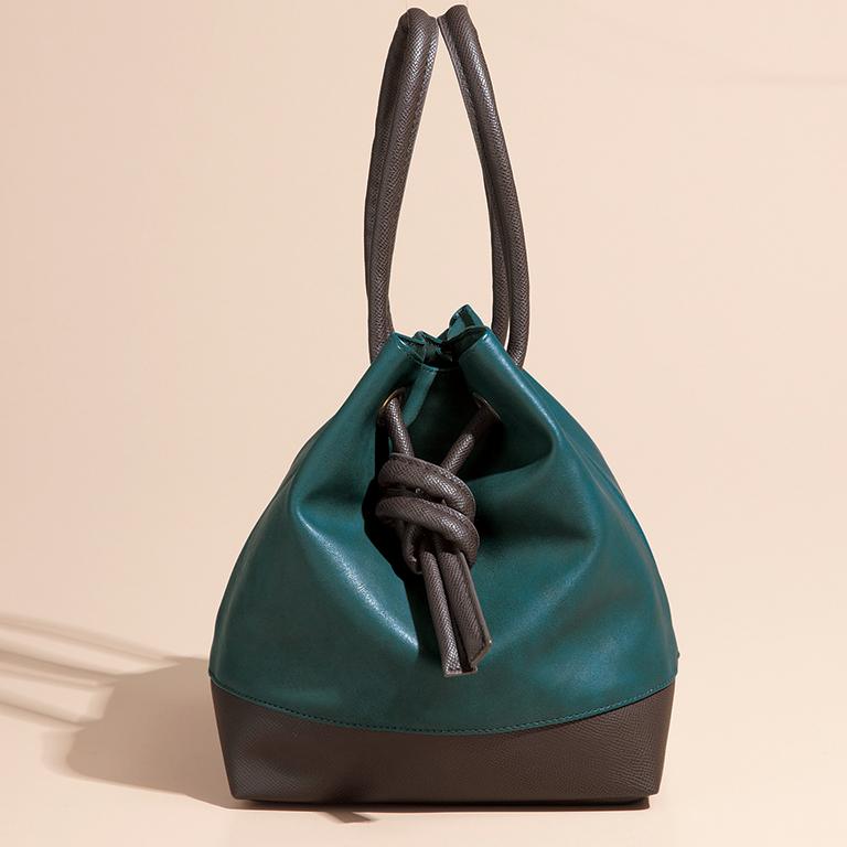 スペリール・ノットデザイン 2WAY 巾着バッグ
