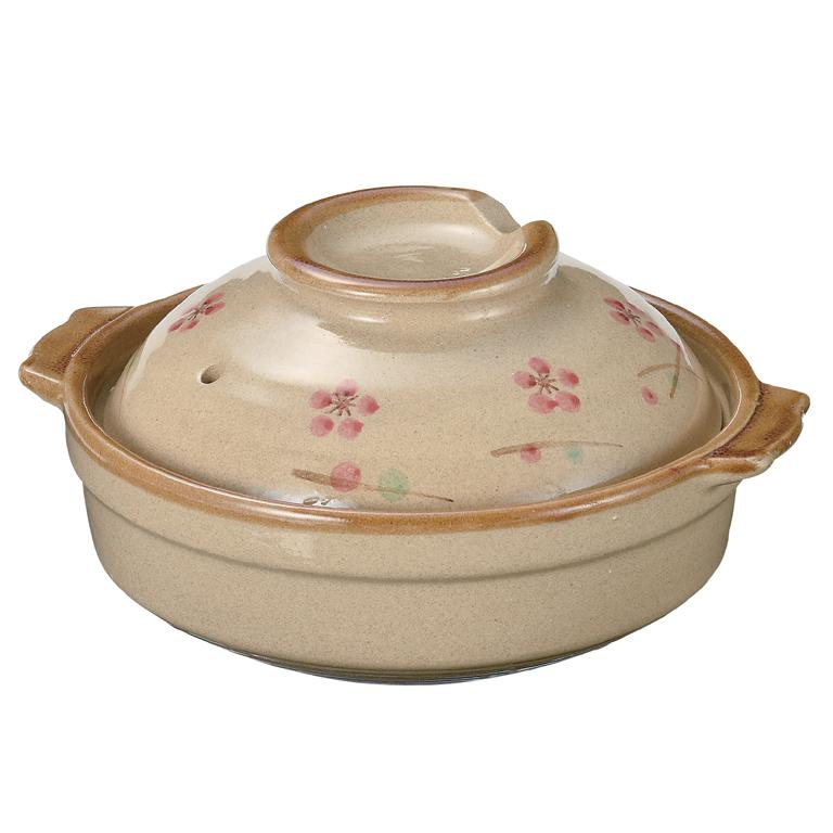 枝梅 一人用土鍋