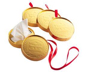 金メダルティッシュ 1個
