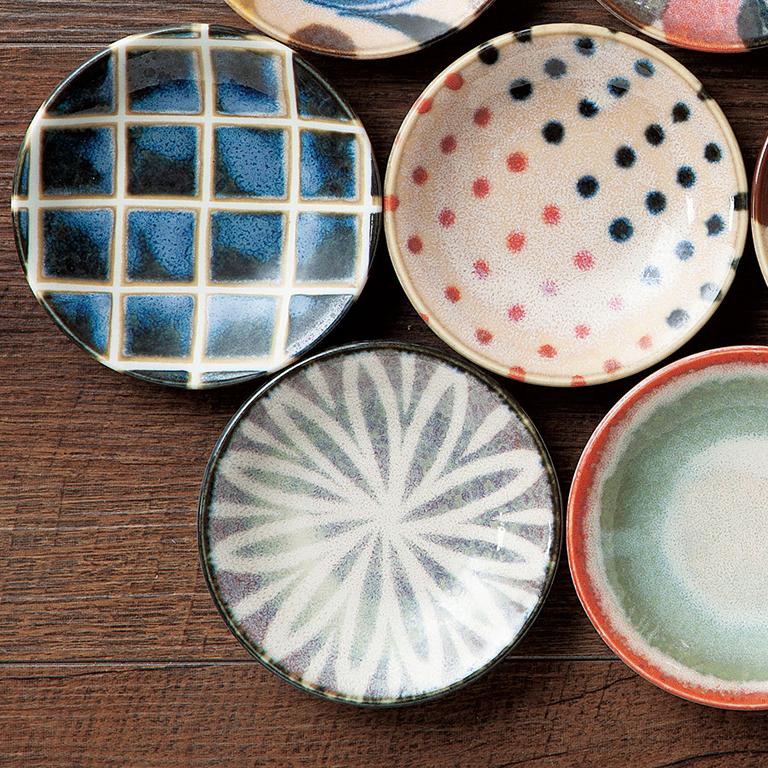 ブラッシュブルー/豆皿
