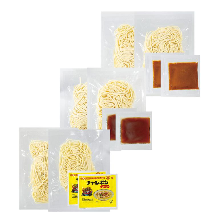 家族みんなで麺三昧 6食組