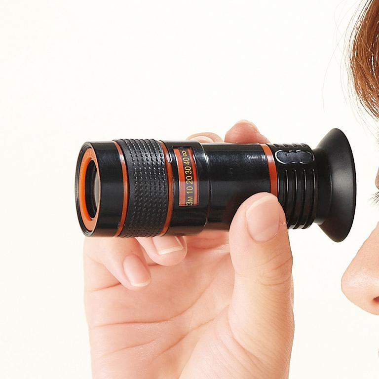 スマートフォン用望遠レンズ