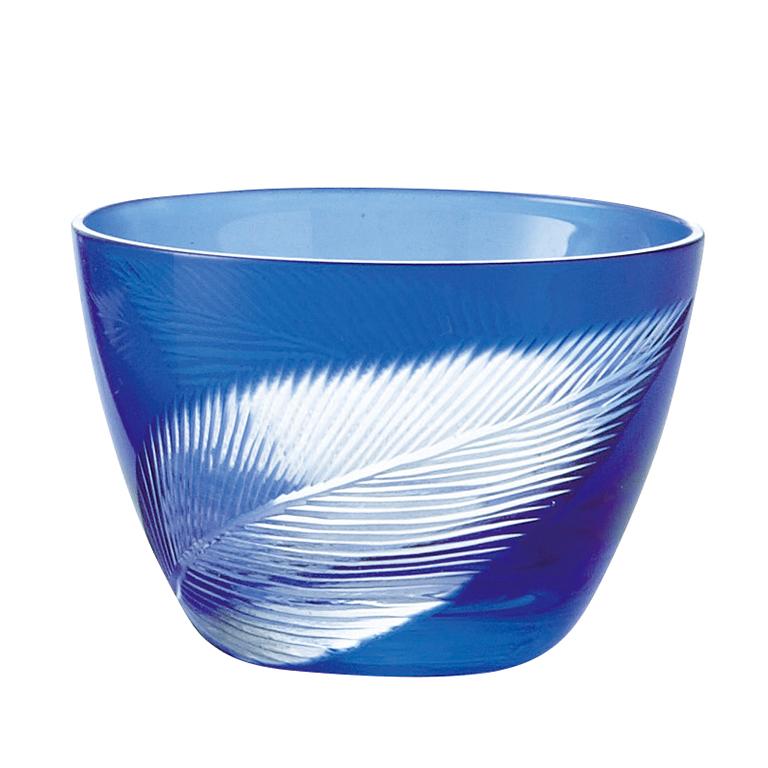 切子双葉ペア小鉢