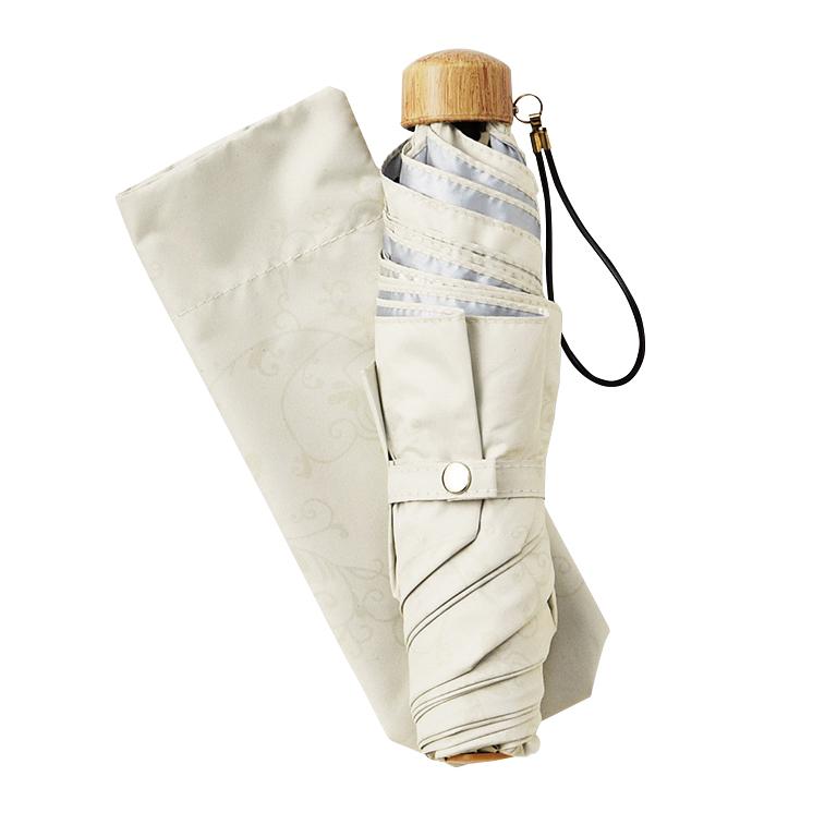 フローラルレース・晴雨兼用折りたたみ傘